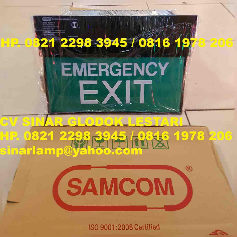 Emergency Exit Lamp Samcom SLM18T
