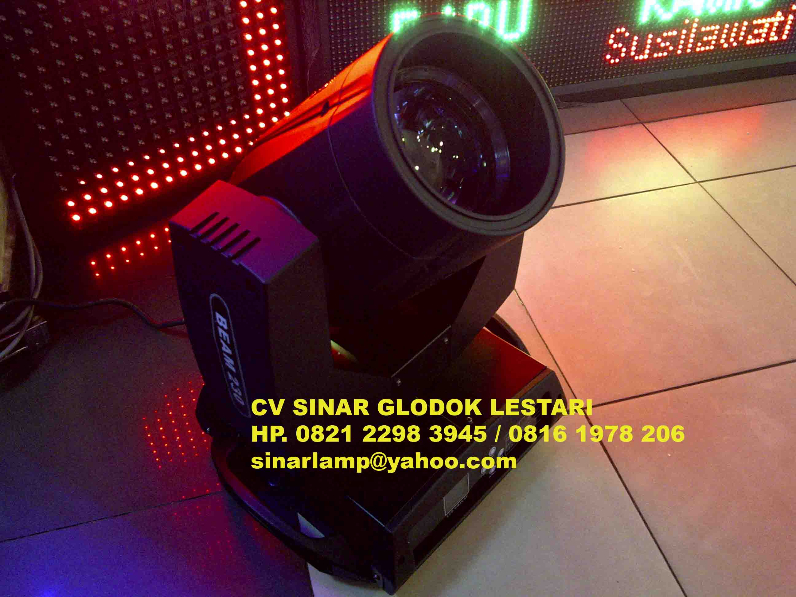 Lampu Panggung Dan Disco 404 The Requested Product Does Not Sorot Moving Head Beam 230
