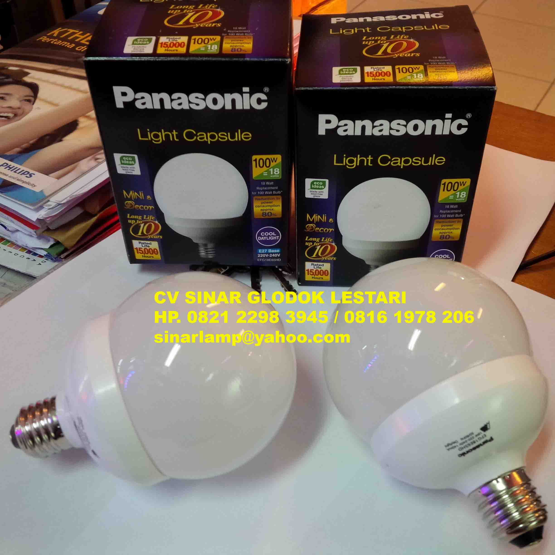 Philips Lampu Led 105w 85w Daftar Harga Terlengkap Indonesia 105 Watt 105watt W Min  12pcs Panasonic 18 Light Capsule