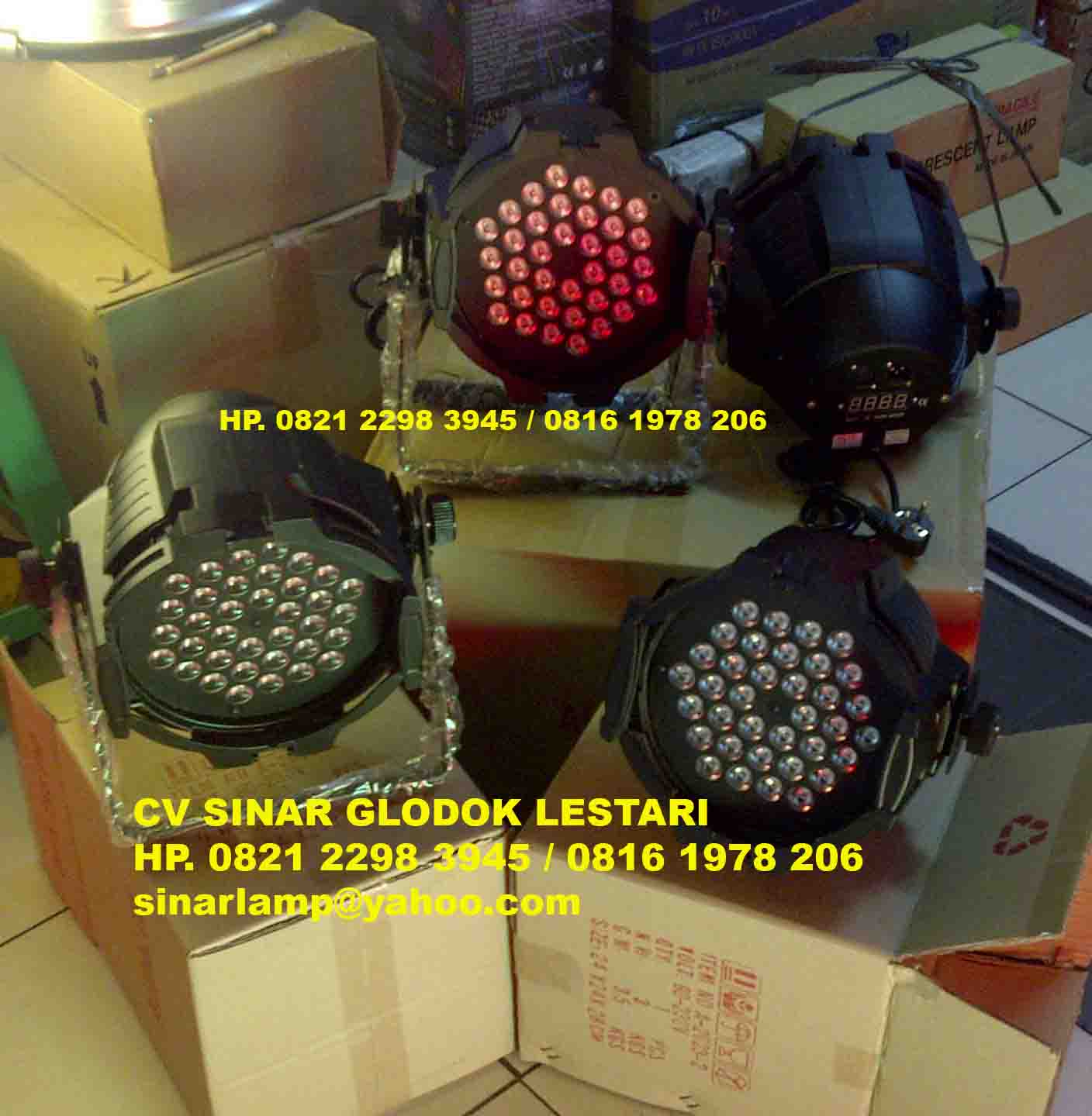 Lampu Panggung Dan Disco Results From 105 Sorot 54 Parled Warna Warni Par Led 36x3 Watt