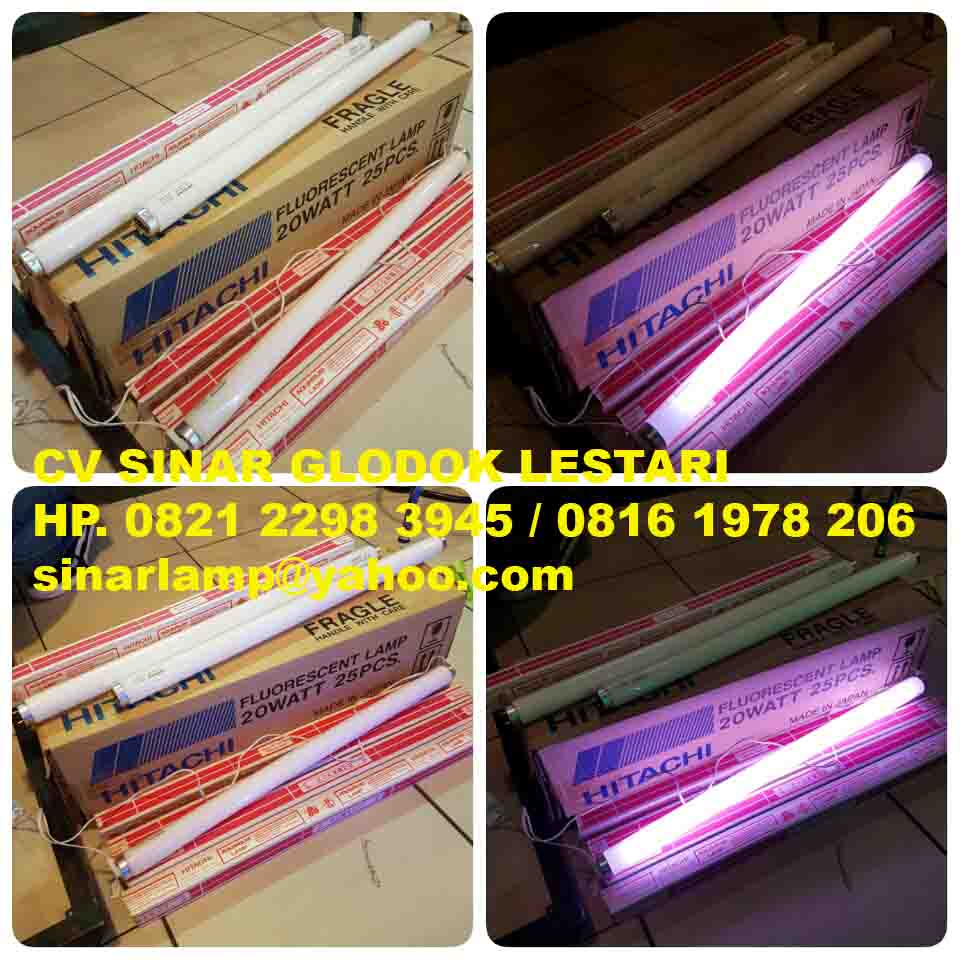 Aneka Lampu T5 Dan Uv Results From 75 Aquarium Hitachi 20w Made In Japan Tl 20 Watt F20t10br